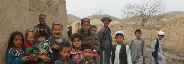 Afghani children