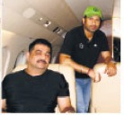 Eliyantha White in Sachin Tendulkar's private jet: Tendulkar has been known to praise White's abilities in public and revile them in private