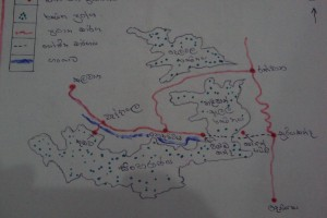 Sinharaja a sketch of proposed road