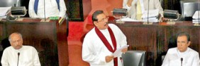 President Rajapakse in Parliament on Thursday August 25, 2011 read out proposals to end Emergency Regulations