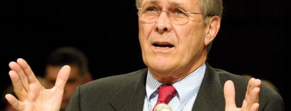 "On May 7, 2004, US Secretary of Defense Donald Rumsfeld made the following statements regarding Abu Ghraib before the Senate Armed Services Committee: ""These events occurred on my watch. As secretary of defense, I am accountable for them. I take full responsibility. It is my obligation to evaluate what happened, to make sure those who have committed wrongdoing are brought to justice, and to make changes as needed to see that it doesn't happen again. I feel terrible about what happened to these Iraqi detainees. They are human beings. They were in U.S. custody. Our country had an obligation to treat them right. We didn't do that. That was wrong. To those Iraqis who were mistreated by members of U.S. armed forces, I offer my deepest apology. It was un-American. And it was inconsistent with the values of our nation."""