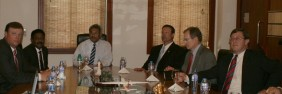 US Congressmen met Sri Lanka's Defence Secretary yesterday October 18, 2011