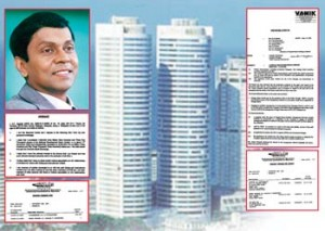A company search of CopyQuest in Malaysia establishes Gold Quest Chief Vijayeswaran to Jagaiah, CopyQuest company search shows the same address of Jagaiah as that given in his affidavit to NDB, Capital Reach Holdings Limited minutes of 11-04-2006 with excerpts on decision to bid for the management of EPF, ETF, Mahapola etc. , Jagaiah's affidavit to NDB which has the same address as his Copy Quest address and Nivard Cabraal are in the picture