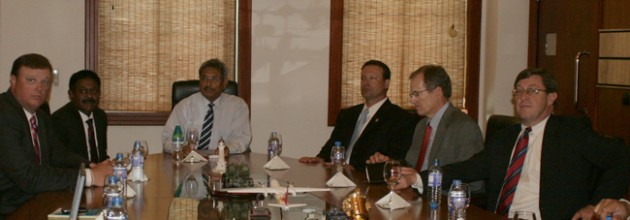 Gotabaya Rajapakse recently met with a visiting group of US congressmen in Colombo