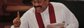 President Mahinda Rajapaksa delivers the 2012 Budget Speech in Parliament