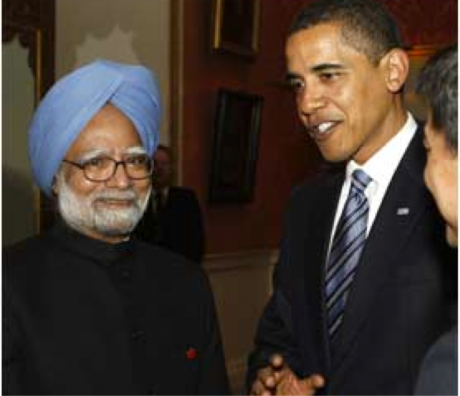 Prime Minister Singh with President Obama (File photo)
