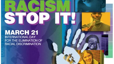 March 21 is International day for the elimination of racial discrimination