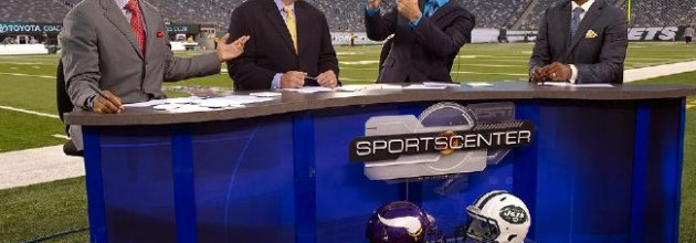 Talk about lucrative: NFL rights fees are going up for networks that put words in fans' ears.