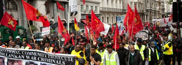 tamils protest june 9th marlobourough house
