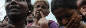 War widows in Sri Lanka