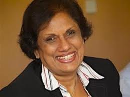 Calling in favours: Chandrika is prevailed upon to help Sarath