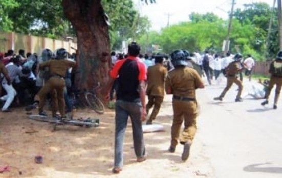 jaffna student protests
