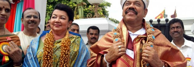 rajapakse and shiranthi