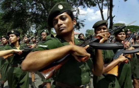 sri lanka 100 tamils women join military