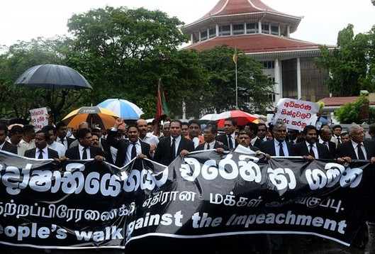 lawyers protest impeachment jan 10 2013