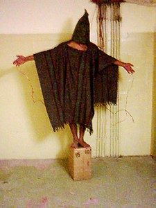 Haunting pictures of the torture at Abu Graib
