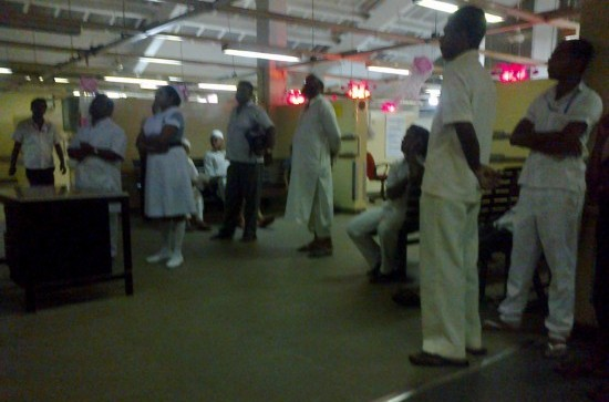 At the CGH accident ward