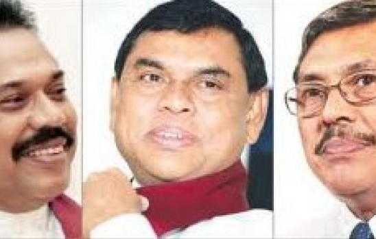 The Rajapaksa triumvirate
