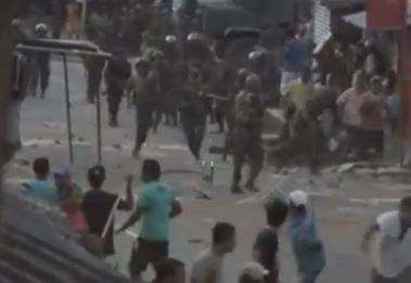 protest turns deadly in weliweriya