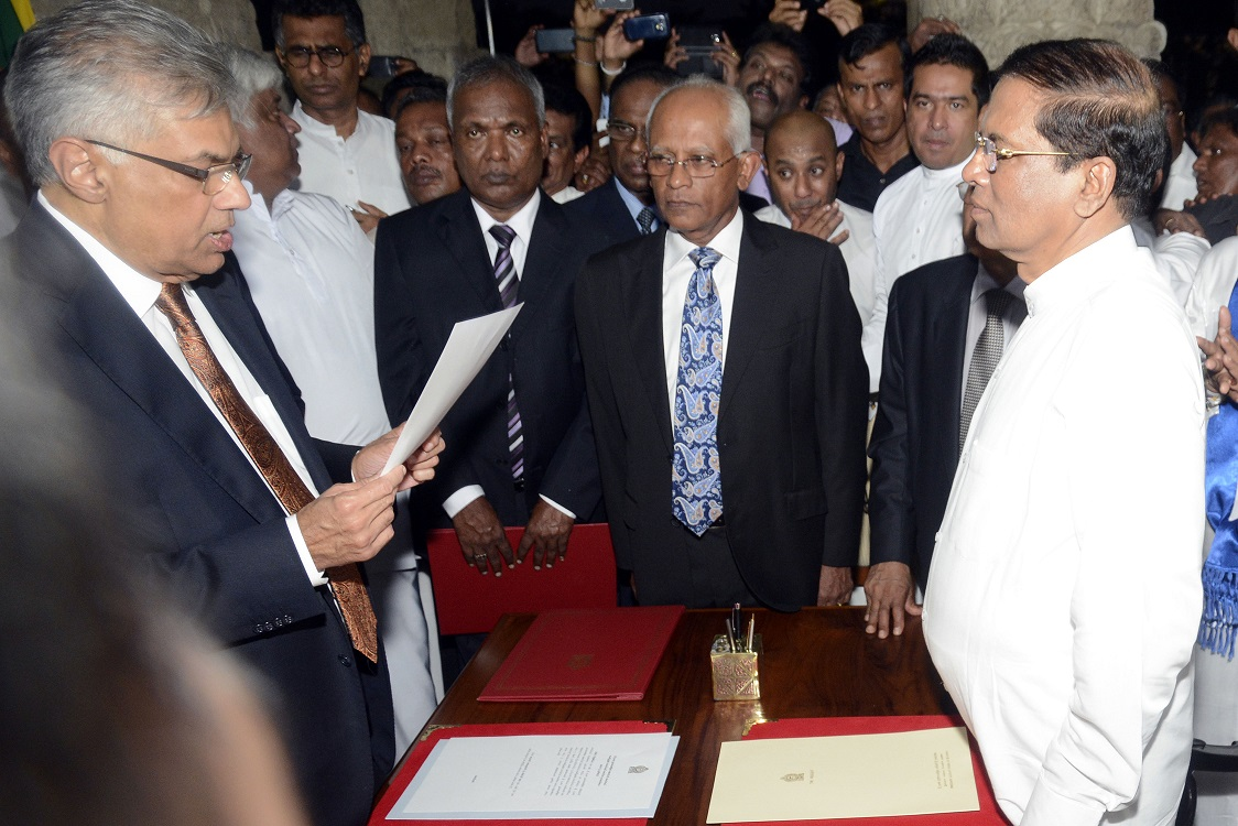 Ranil Sworn In